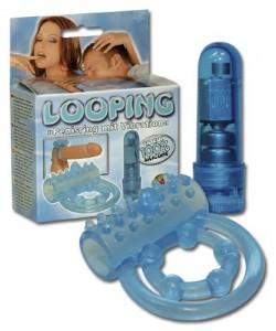 Looping Penisring med Vibrator