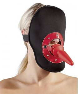 Maske med Analplug/Gag