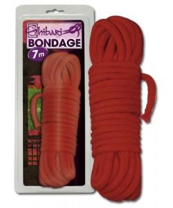 Shibari reb rød