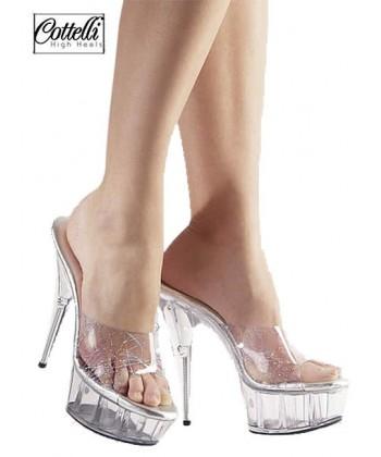 Sandal Sydney i Transparent