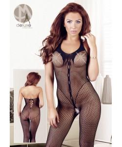 Net Catsuit med Body Mønster
