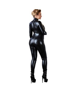 Plus Size Wetlook Catsuit