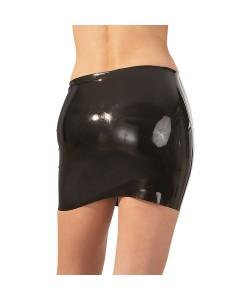 Latex nederdel