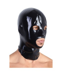 Latex Maske i Sort
