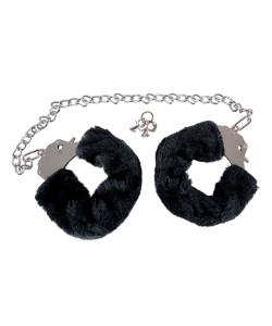 Bigger Furry Handcuffs - Håndjern med Plys