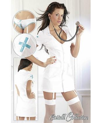 Frækt Sygeplejerske Kostume - Frække Kostumer