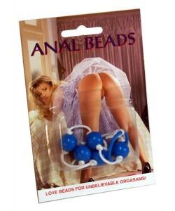 Anal Beads Blue